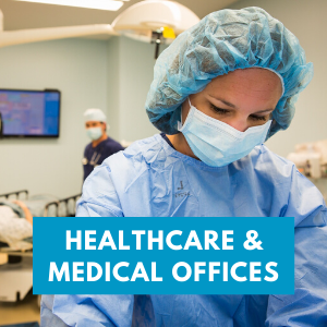 healthcare & medical offices tile