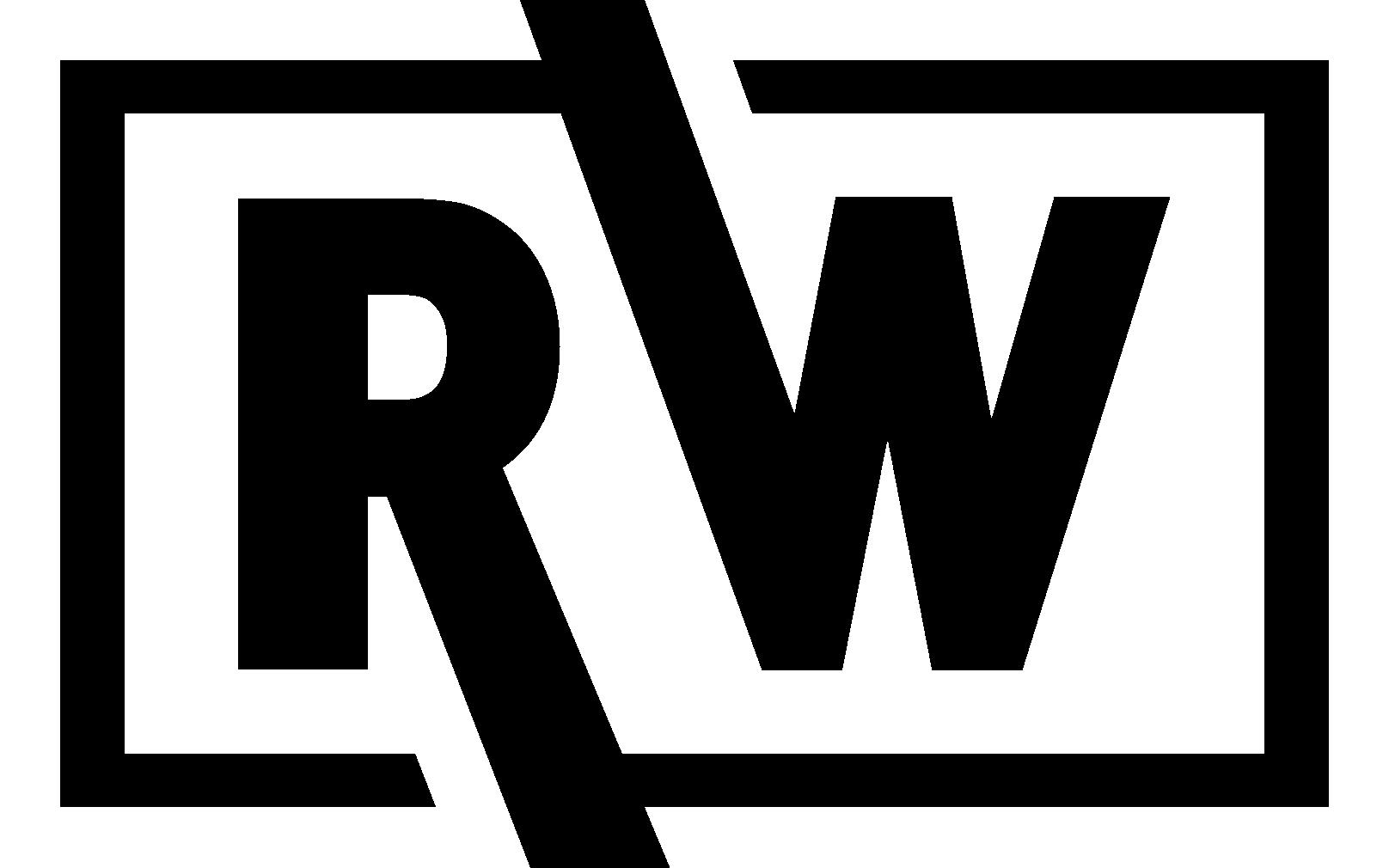 riskwell logo all white